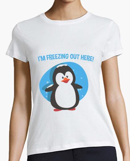 Camiseta I'm freezing Out There