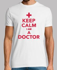 im garder le calme d'un médecin