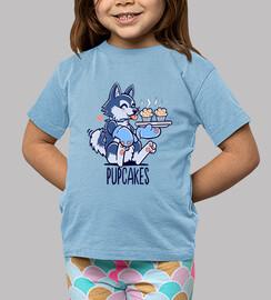im haciendo pupcakes - camisa de los niños