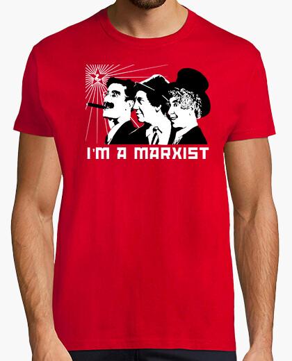 Tee-shirt I'm Marxist (Marx Brothers)