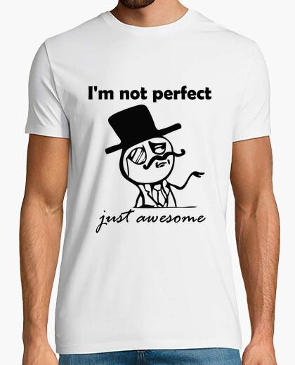 Camiseta im no es perfecto