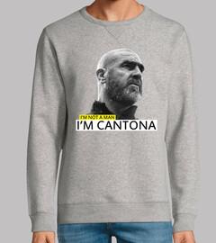 I'm not a man, I'm Cantona