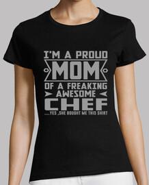 im orgogliosa mamma di uno chef impressionante impazzendo