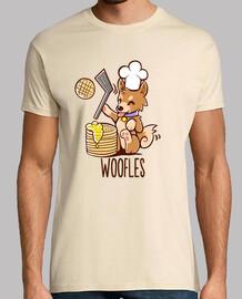 im rendendo woofles - camicia da uomo
