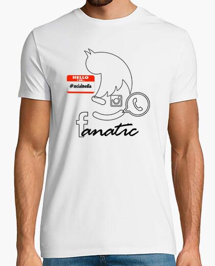 Camiseta I´m social media fanatic