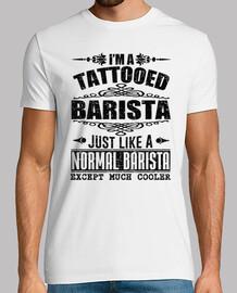im tattooed barista