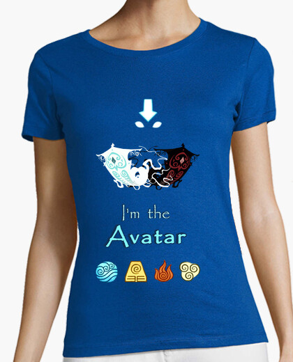 Camiseta I`m the Avatar (chica)