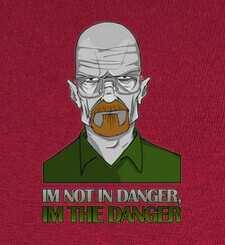 Camisetas Im the Danger (BBad)