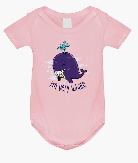 Vêtements enfant I'm very whale