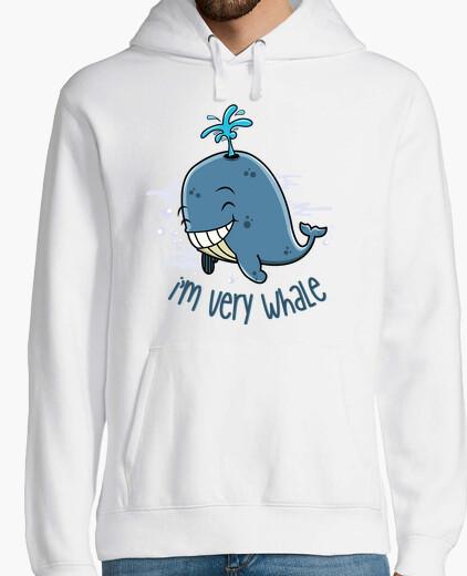 Sudadera I'm very whale