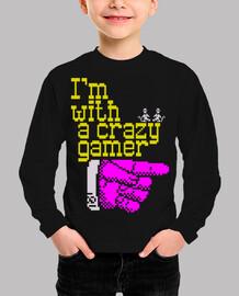 I'm with a crazy gamer
