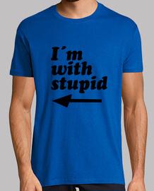 Im with stupid (Camiseta madre kenny sou