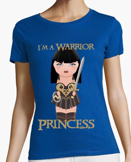 Tee-shirt i'ma princess warrior - xena