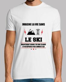 imaginar la vida sin esquiar