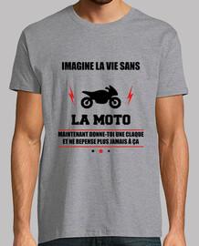 Imagine la vie dans la moto