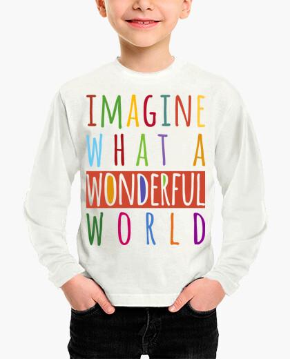 Ropa infantil Imagine what a wonderful world