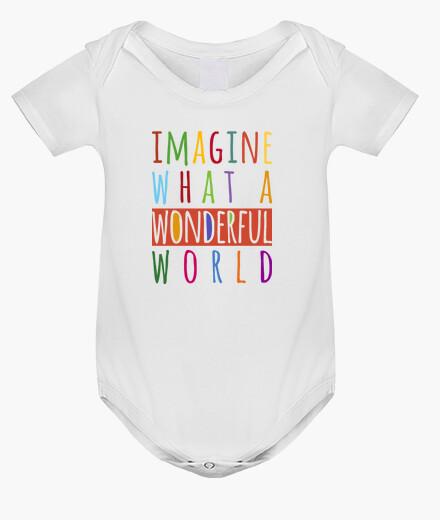 Abbigliamento bambino immaginate what un meraviglioso world