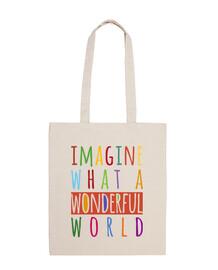 immaginate what un meraviglioso world