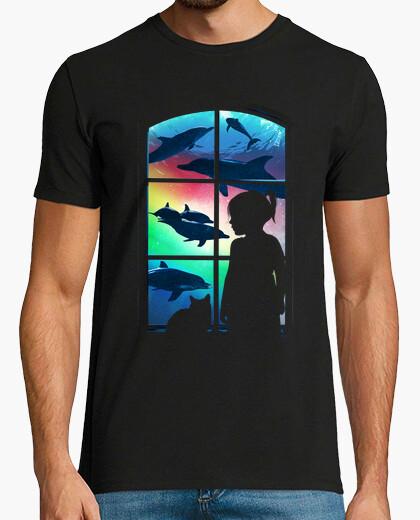 T-shirt immaginazione sottomarina v2