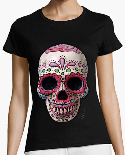 Tee-shirt immobilier  tête de mort  mexicain !!!