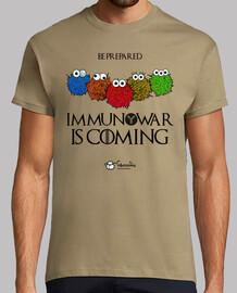 immunowar est à coming (fond clair)