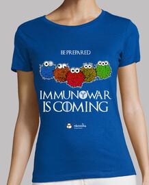 immunowar est à coming (fond sombre)