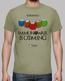 immunowar is coming (light background)