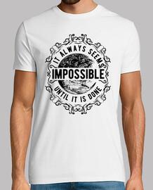 impossibile finché non è d one b