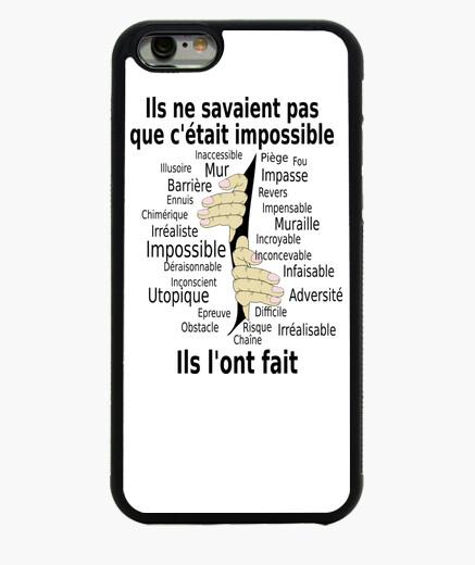 Funda iPhone 6 / 6S Impossible et fait Hommes  mains FC