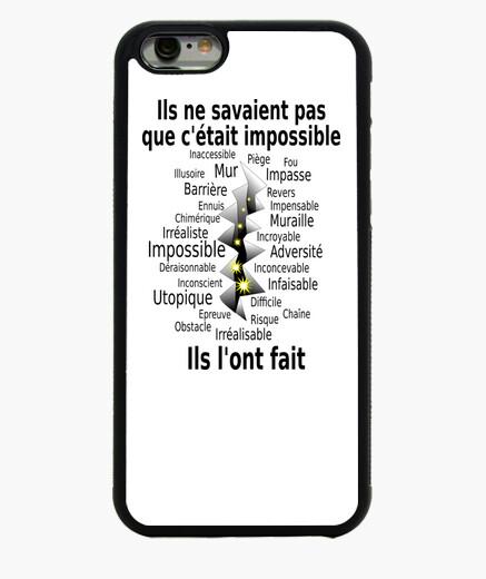 Funda iPhone 6 / 6S Impossible et fait Hommes FC