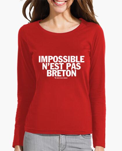 Tee-shirt Impossible n'est pas Breton