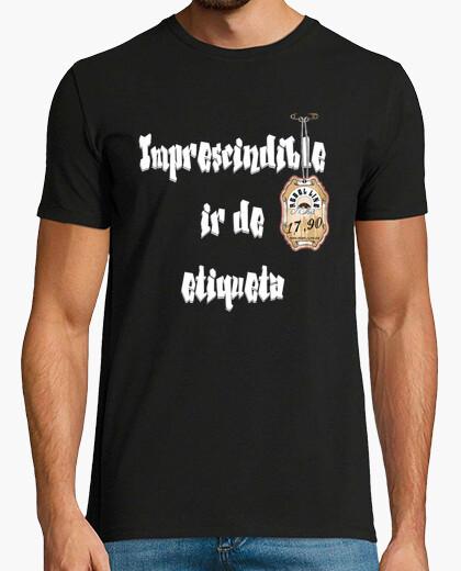 Camiseta Imprescindible ir de etiqueta (H)