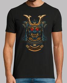 impressionnant samouraï d' gold