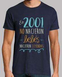 in 2001, no babies were born, legends were born