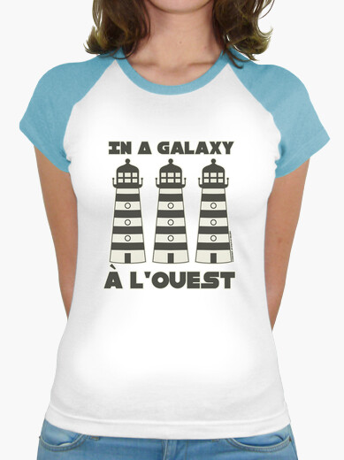 In a galaxy lighthouse lighthouse lighthouse west - baseball t-shirt