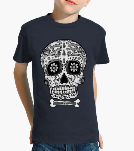 Abbigliamento bambino in bianco e nero teschio messicano !!!