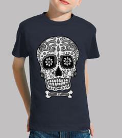 in bianco e nero teschio messicano !!!