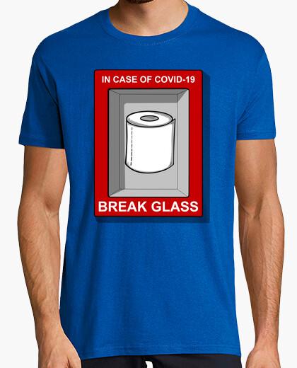 Camiseta IN CASE OF COVID 19