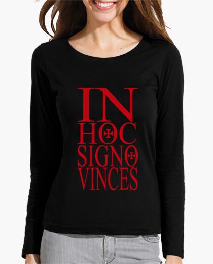Camiseta IN HOC SIGNO VINCES rojo