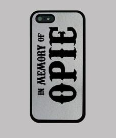 In memory of Opie iPhone 5  5S