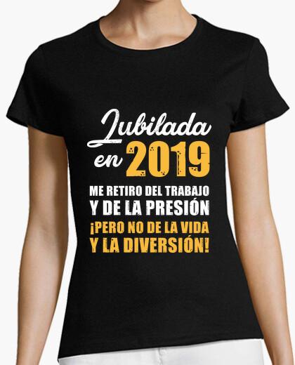 T-shirt in pensione nel 2019