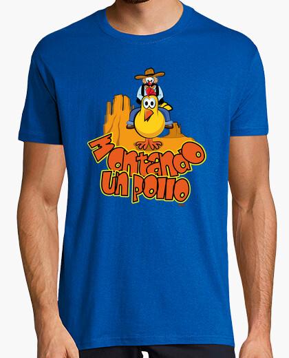 T In Shirt Sella Un Pollo A 603081Tostadora it BxordCe