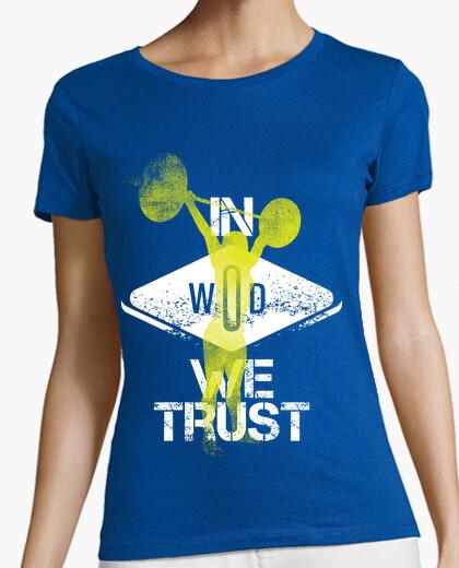 Camiseta In Wod We Trust