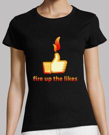 incendi il tipo piace, facebook come