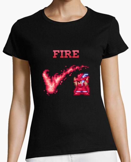 Tee-shirt incendie