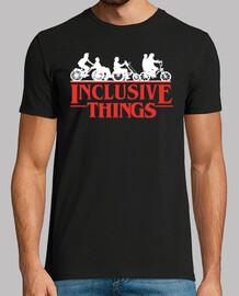 inclusive things men's short manga t shirt