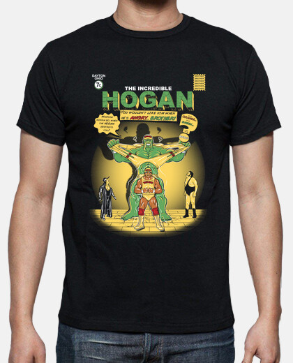 incroyable hogan / wrestling / comic / mens