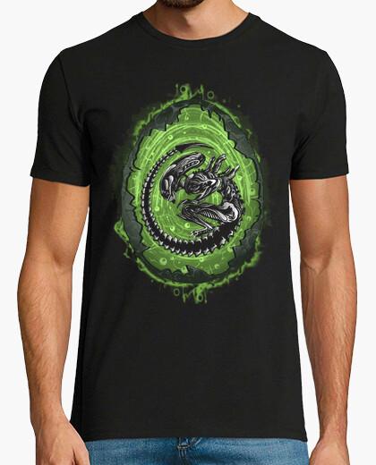T-shirt incubazione alieno
