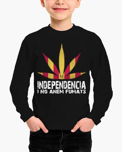 Ropa infantil Independència i no anem fumats