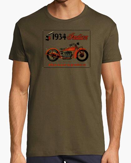 Camiseta INDIAN 1934 - Verde